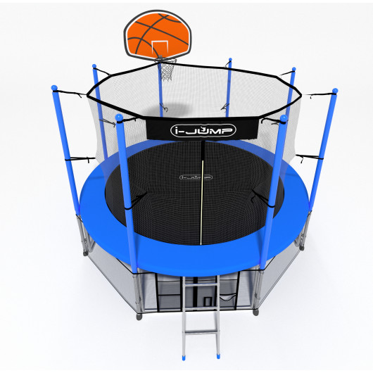 Батут i-jump basket 16ft blue