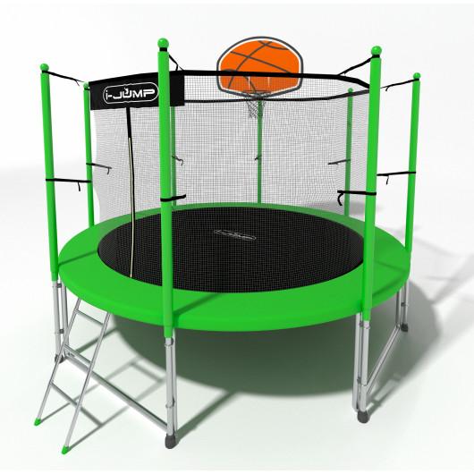Батут i-jump basket 6ft green