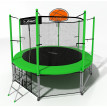 Батут i-jump basket 14ft green